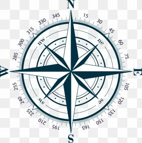 Compass - Compass Rose Stock Illustration Clip Art PNG