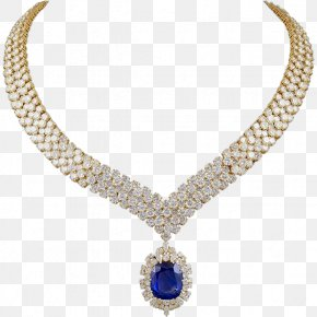 Necklace - Necklace Earring Jewellery Candere Diamond PNG