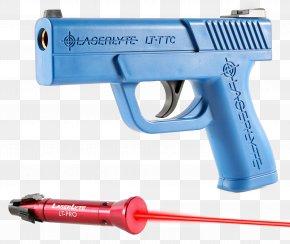 Laser Gun - Training System Firearm Weapon Trigger Gun Barrel PNG
