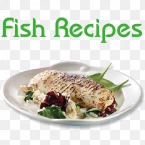 Fish Recipe - Vegetarian Cuisine Leaf Vegetable Recipe Dish Garnish PNG