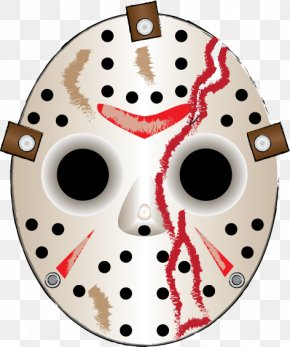 Mask - Jason Voorhees Friday The 13th: The Game Goaltender Mask PNG