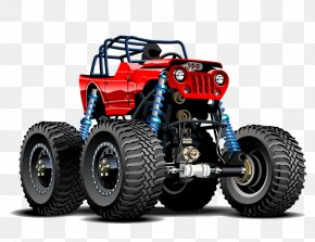 Jeep - Jeep Pickup Truck Car Monster Truck PNG