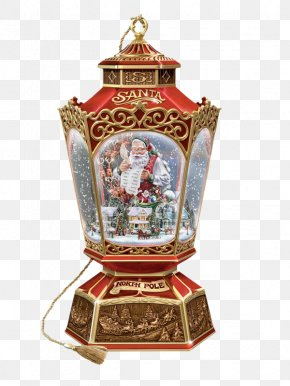 Snow House - Santa Claus Christmas Tree Gift Christmas Decoration PNG