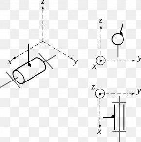 Pivot Joint - Linkage Degrees Of Freedom Technical Drawing Cartesian Coordinate System PNG