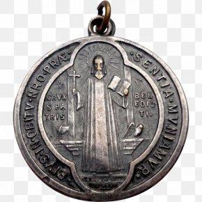 Medal - Monte Cassino Saint Benedict Medal Catholicism PNG