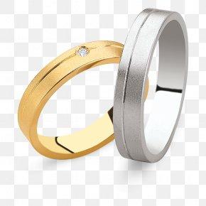 Ring - Wedding Ring Silver Platinum PNG