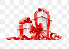 Gift - Gift Card Ribbon Christmas PNG