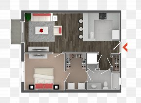 House - 3D Floor Plan House PNG