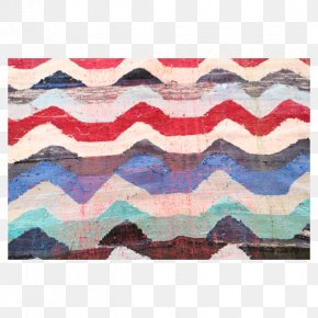 Kilim Ottoman - Place Mats Rectangle Pattern Flooring Purple PNG
