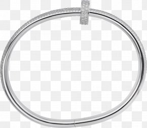 Silver - Bangle Body Jewellery Material Silver PNG