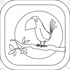 Bird Line Art - Clip Art Drawing Line Art Illustration Coloring Book PNG