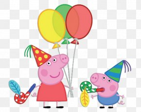 Peppa - Daddy Pig Mummy Pig Party Paper PNG