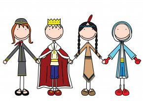 Christmas Play Cliparts - Christmas Nativity Play Child Clip Art PNG