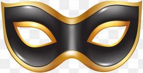 Carnival Mask Black Transparent Clip Art Image - Mask Carnival Clip Art PNG