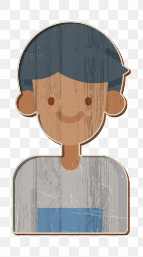 Cartoon Student Icon - Person Icon Social Media Icon Student Icon PNG