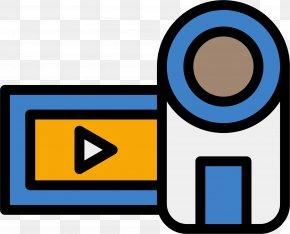 Cartoon Home Camera DV - Video Camera Clip Art PNG