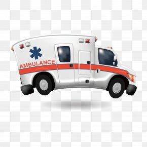 Speeding Ambulance - Ambulance Royalty-free Illustration PNG