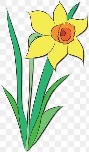 April Cliparts - April Shower Flower Clip Art PNG