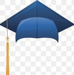 Vector Blue Cap - Hat Graduation Ceremony Getty Images PNG