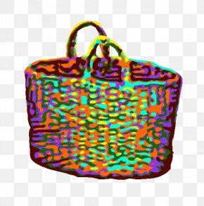 Curlicue Illustration - Shoulder Bag M Handbag Hand Luggage Baggage PNG