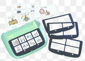 Communication Device - Augmentative And Alternative Communication Communicator Speech Message PNG