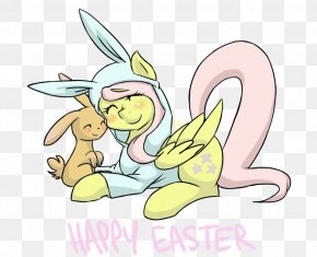 Easter - Easter Bunny Drawing Cartoon Clip Art PNG