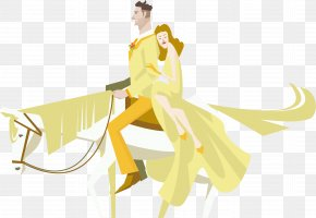 Romantic Wedding Wedding Vector Material - Marriage Wedding Illustration PNG