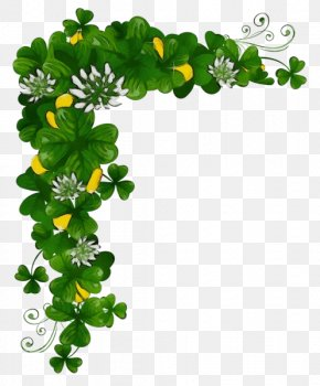 Ivy Symbol - St Patricks Day PNG