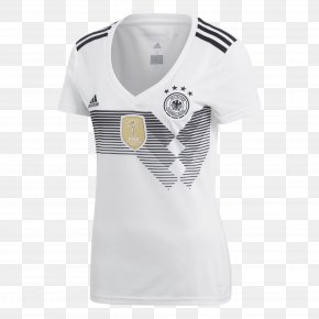 Adidas - 2018 FIFA World Cup Germany National Football Team T-shirt 2014 FIFA World Cup Jersey PNG