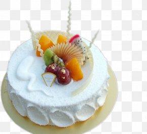 Cake - Fruitcake Chiffon Cake Birthday Cake Raisin Cake Torte PNG