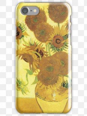 Van Gogh - The Painter Of Sunflowers Van Gogh Self-portrait Vase With Twelve Sunflowers Irises PNG