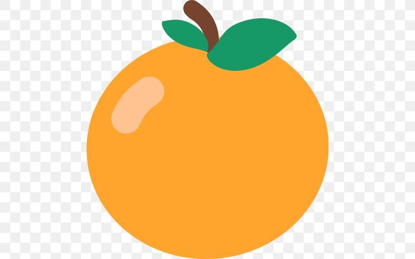 Food Fruit Orange Emoji, PNG, 512x512px, Food, Apple, Calabaza, Cucurbita, Emoji Download Free