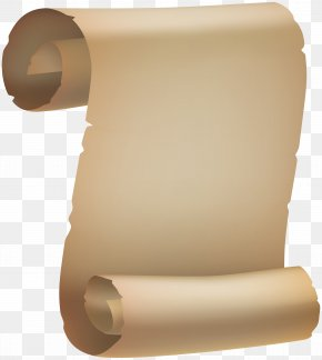 Scroll Old Paper Clipart Image - Paper Scroll Clip Art PNG