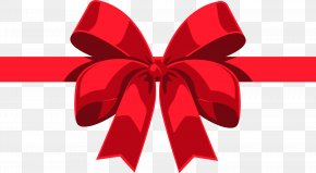 Vector Painted A Red Bow - Red Euclidean Vector PNG