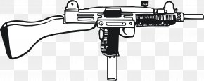 Hand Painted Battlefield Weapons - Trigger Weapon Machine Gun Battlespace PNG