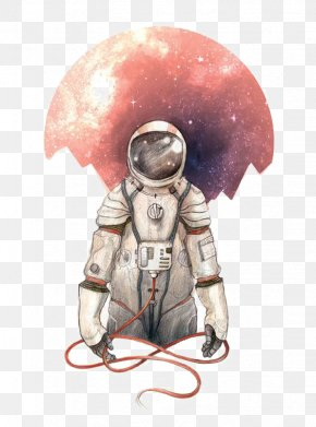 Astronaut - I Want To Be An Astronaut Art Illustration PNG