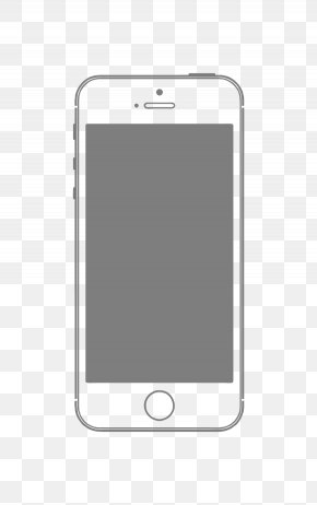 Vector Iphone Mobile Phone Frame Material - Smartphone Feature Phone PNG