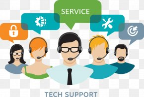 Computer - Technical Support Customer Service LiveChat Clip Art PNG