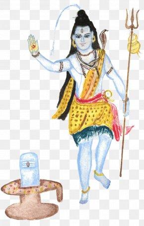 Lord Shiva - Costume Design Art Fashion Illustration PNG
