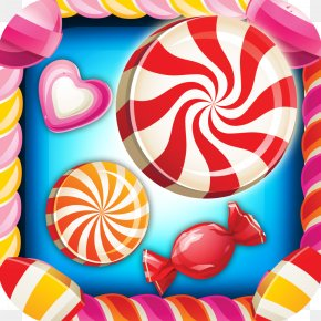 Candy Crush - Lollipop Wonka Bar Candy Cane PNG