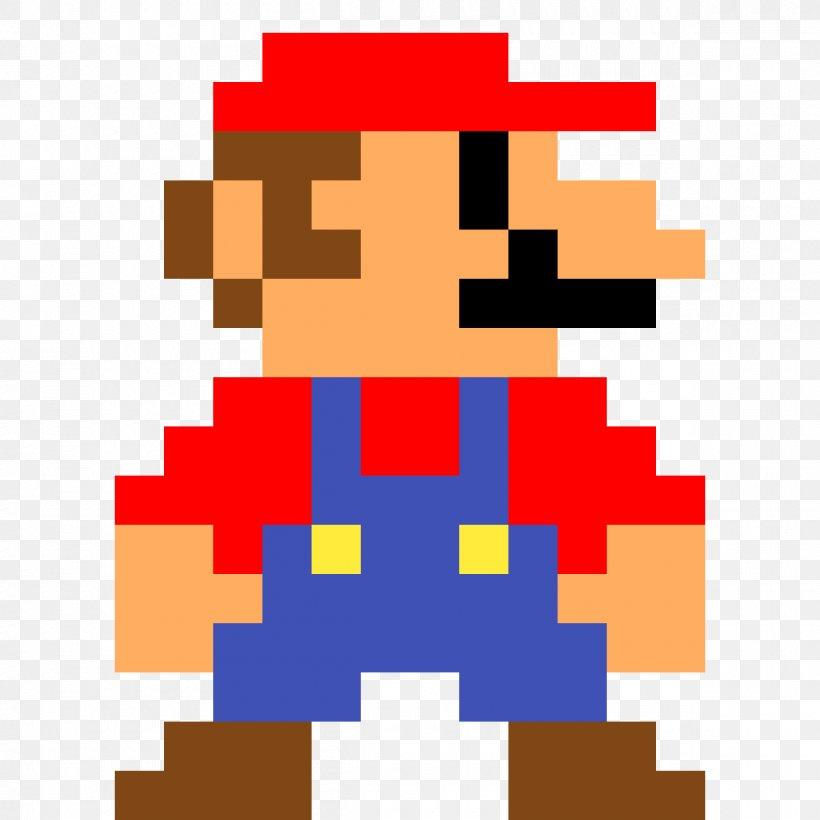 Luigi Super Mario Bros Pixel Art Png 1200x1200px 8bit