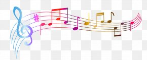 Transparent Colorful Notes Clipart Picture - Musical Note PNG