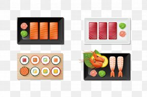 Sushi - Sushi Japanese Cuisine Chinese Cuisine Miso Soup PNG