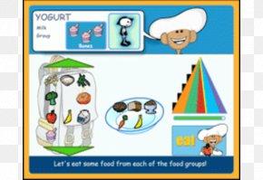 Healthy Eating Pyramid - Technology Food Pyramid Font PNG