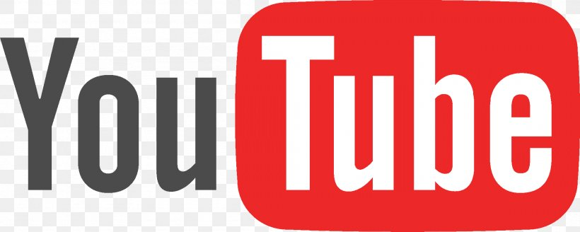 YouTube Logo, PNG, 1998x801px, Youtube, Advertising, Brand, Logo, Monochrome Download Free
