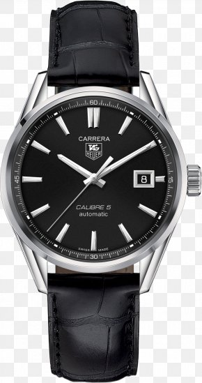 Watch - TAG Heuer Carrera Calibre 5 Automatic Watch TAG Heuer Monaco PNG