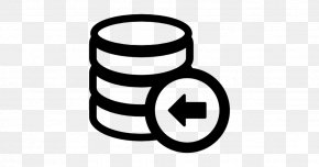 Database Symbol - Data Recovery Hard Drives Backup Computer Software PNG