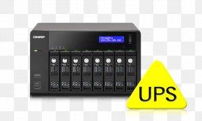 Qnap Systems Inc - Network Storage Systems Serial ATA Hard Drives QNAP Systems, Inc. QNAP TS-869 Pro PNG