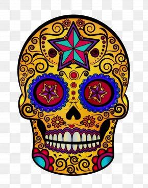 Symbol Visual Arts - Skull Bone Head Yellow Visual Arts PNG