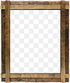 Wood Frame - Window Picture Frame Wood Framing Clip Art PNG